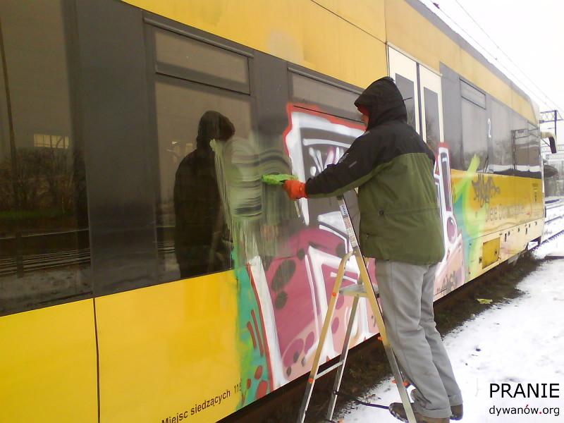 Kłodzko Zmywanie Graffiti